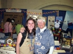 Nicola with Joanne Purpus, the 'Mother of Rhinelanders' in the US!  What a wonderful, knowledgeable lady!